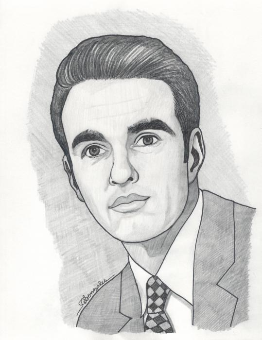 Montgomery Clift by aaronmark